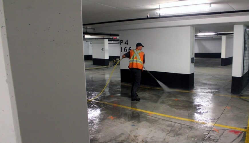 Parking Cleaning